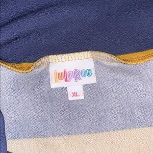LuLaRoe Skirts - 🆕 Lularoe Cassie Pencil Skirt Stripe XL